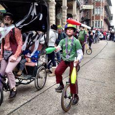 Ethan the Juggler in the Mardi Gras Parade! Eureka Springs Arkansas, Victorian Village, Mardi Gras Parade, Events, Spaces