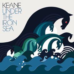 "Keane ""Under the Iron Sea"" album art"