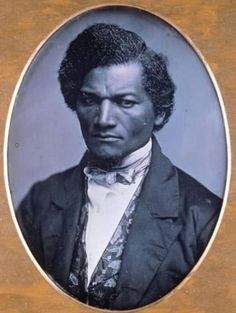 Frederick Douglass in his early-twenties, c. 1847 by Samuel J. Miller.