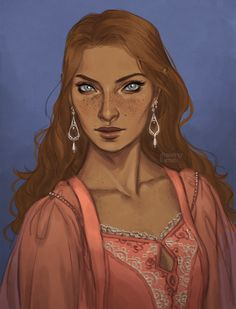 """wingsofanillyrian: """"rhysand-vs-rowan: """"drawingllamas: """"my beautiful, strong Feyre in her peach Night Court outfit, greatly inspired by the one drew here """" This is STUNNING! Book Characters, Fantasy Characters, Female Characters, A Court Of Wings And Ruin, A Court Of Mist And Fury, Character Portraits, Character Art, Character Design, Feyre And Rhysand"""