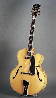 Walker Excel Model archtop guitar