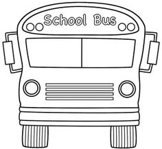 school bus on Pinterest | School Buses, Buses and Coloring Pages