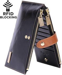 Borgasets RFID Blocking Women's Genuine Leather Zipper Wa... https://www.amazon.com/dp/B00J2WIDXS/ref=cm_sw_r_pi_dp_x_gmqZxbVMFNQ2P