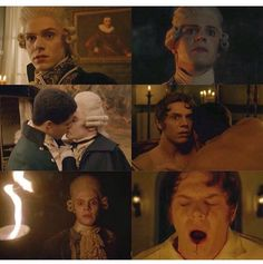 Evans acting through out the episode which he appeared in quite a bit, I have to say was phenomenal. I mean you know this guy plays in every season of AHS but this one was truly character that was completely unexpected and amazingly portrayed!!