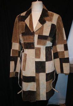 #tumbrl#instagram#avito#ebay#yandex#facebook #whatsapp#google#fashion#icq#skype#dailymail#avito.ru     Women's M leather suede Marvin Richards coat #MarvinRichards #BasicJacket