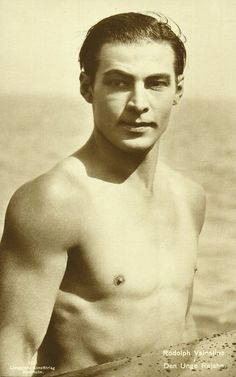 """Rudolph Valentino. Character 'Antonio' in """"Michael Rose"""" keeps coming back to him..."""