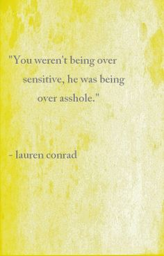 lauren conrad  Woah this brings back memories I wish I had this advice then!!!