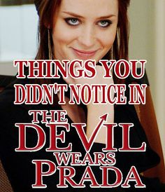 "19 Things You Totally Didn't Notice In ""The Devil Wears Prada"""