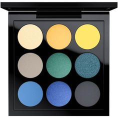MAC Tropic Cool Eye Shadow Palette X 9 ($53 Value) (750 HNL) ❤ liked on Polyvore featuring beauty products, makeup, eye makeup, eyeshadow, beauty, fillers, cosmetics, mac cosmetics, palette eyeshadow and mac cosmetics eyeshadow