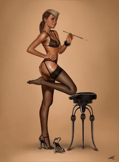 Hot pin-up!