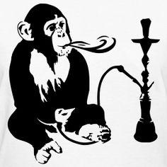 Hookah Monkey (Request) | Wolf Closet