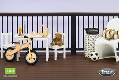 Our designer-picked Decking and Railing Duos can help you find the perfect pairing for your home. Browse the duos at http://www.trex.com/products/decking-and-railing-duos/. #outdoorliving #backyard #deck #patio #porch #compositedecking