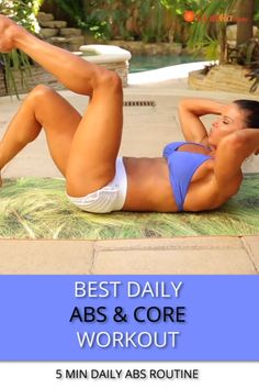 Sculpt your abs and strengthen your core! new to fitness and want a stronger core check out these beginner ab workout videos popsugar 15 Minute Ab Workout, Ab Core Workout, Step Workout, Abs Workout Routines, Workout Guide, Fitness Workouts, Workout Videos, Ab Routine, Ab Workouts