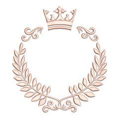 Certificate Design Template, Makeup Artist Logo, Flowery Wallpaper, Crown Logo, Luxury Logo, Floral Logo, Lettering Styles, Button Art, Vintage Design