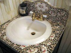 Ideas Decorar Mesas Mosaico Adoraideas Mosaic Pinterest Mosaics Para And Manualidades