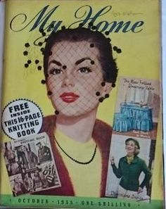 My Home magazine from October 1955.