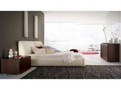 rossetto win bedroom set. rossetto pavo beige leather bedroom set win