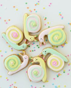 Snail Cookies! ♥ Aline