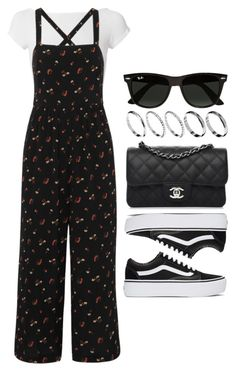 """#14724"" by vany-alvarado ❤ liked on Polyvore featuring Helmut Lang, Madewell, Vans, Chanel, Ray-Ban and ASOS"