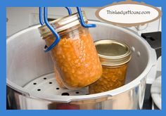 Pressure Canner VS Boiling Water Canner | This Lady's House
