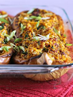 Quinoa- and Kale-Stuffed Butternut Squash + 8 more quinoa recipes … they all look yummy!