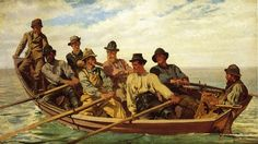 Pulling for Shore, 1877, John George Brown