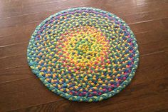 Another braided t-shirt rug