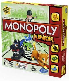Hasbro Monopoly Junior - od 58,00 zł, porównanie cen w 53 sklepach. Zobacz inne Gry dziecięce, najtańsze i najlepsze oferty, opinie.