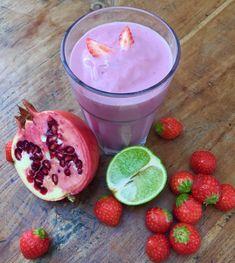 Fruchtshake Erdbeeren