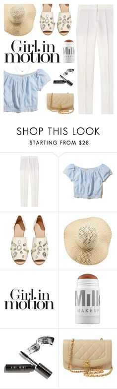 """""""come to the altar"""" by my-pink-wings ❤ liked on Polyvore featuring STELLA McCARTNEY, Hollister Co., H&M, American Apparel, Victoria's Secret, MILK MAKEUP, Bobbi Brown Cosmetics and Chanel"""