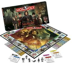 Narnia Monopoly!!! WANT!!!