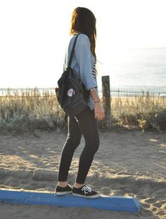 laid-back fall style