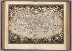 Vniversalis tabvla ivxta Pteolemaeum (1618)