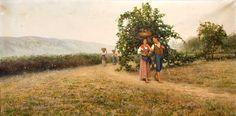 Pasquale Celommi | Four Seasons / Quattro stagioni, 1890-1901