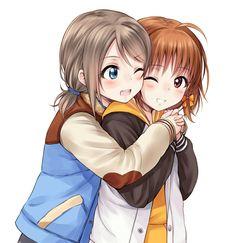 Watanabe You x Takami Chika Love Live! Sunshine!!