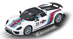 Carrera Digital 132 - Porsche 918 Spyder Martini Racing No.23 (30698) - Carrera Digital 132 - Porsche 918 Spyder Martini Racing No.23 (30698) Slotcar