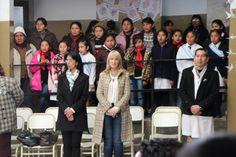 En la escuela del Barrio Asunción Ntra. Señora de la Asuncion se llevo a cabo el acto del 9 de Julio, contando con la presencia de la Directora General de los CENTROS INTEGRADORES COMUNITARIOS, la Dra. Laura Cartuccia y la Dra. Norma Belmont quien coordina las acciones del CIC de Asuncion.