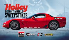 Enter To Win The Holley Detroit Muscle Sweepstakes! Car Sweepstakes, Win Free Stuff, Holley Performance, Instant Win Games, Public Relations, Muscle Cars, Detroit, Chevrolet