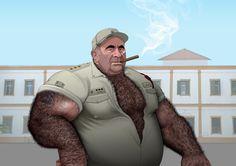 Captain Gorilla (Brute essentials).