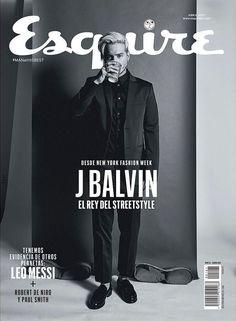 Exclusiva: J Balvin para Esquire México por César Balcazar