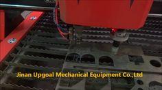 Large 2000*6000mm CNC Plasma Drilling Cutting Pipe Cutting Machine with ...