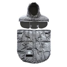 The Pookie Poncho is a Baby Carrier Cover that converts into a stroller cover. Featuring two interchangeable hoods, it will take your child from infancy on their baby carrier all the way through preschool and the stroller years.