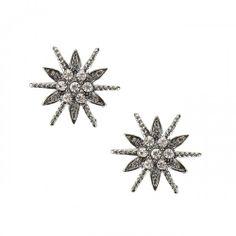 Starburst Crystal Earring//