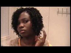 Undetectable Crochet Braids - Glance Model DIVA CURL - YouTube