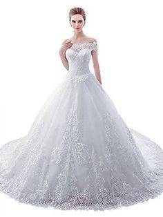 019d0fda2dd Sisjuly Women s Sweetheart Lace Off The Shoulder Ball Gow...  wedding  weddingphotography