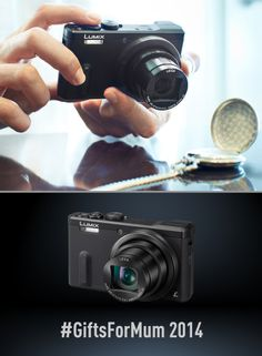Capture those moments with the Lumix TZ60... It would make a stylish gift for mum. Find out more here: http://www.panasonic.com/uk/consumer/cameras-camcorders/lumix-digital-cameras---point-and-shoot/superzoom-cameras/dmc-tz60eb.html #GiftsForMum