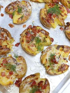 Smashed Potatoes Recipe, this one is so easy. Great one to prepare ahead of time.