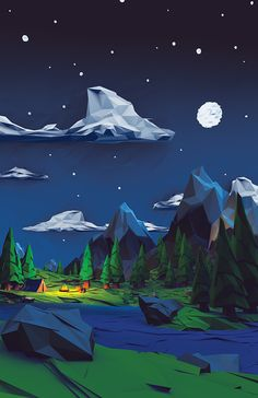 Low Poly Series on Behance                                                                                                                                                                                 More