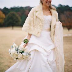 Fall bride: http://www.stylemepretty.com/little-black-book-blog/2014/11/26/elegant-fall-birmingham-wedding/   Photography: Clark Brewer - http://clarkbrewerphotography.com/