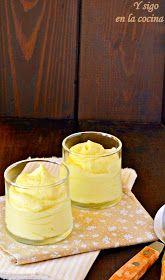 y sigo en la cocina: Mousse de mango Desserts With Biscuits, Mini Desserts, Just Desserts, Delicious Desserts, Yummy Food, Sweet Recipes, Snack Recipes, Dessert Recipes, Cooking Recipes